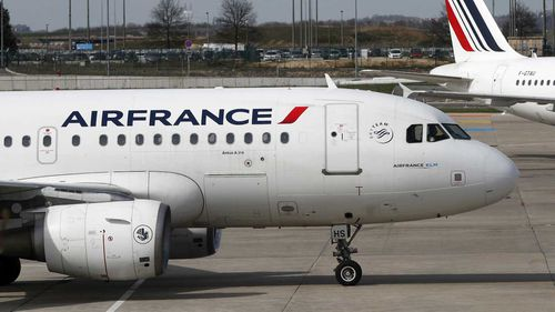 The stowaway died in the landing gear on an Air France flight to Paris.