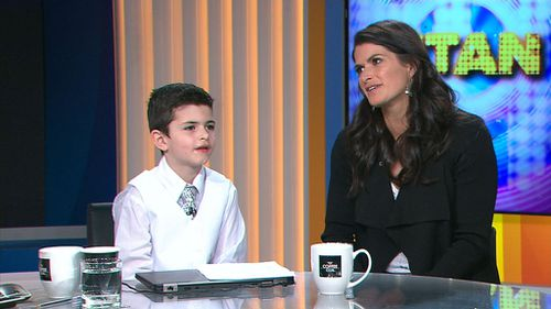 Eitan and his mum. (TODAY Show)