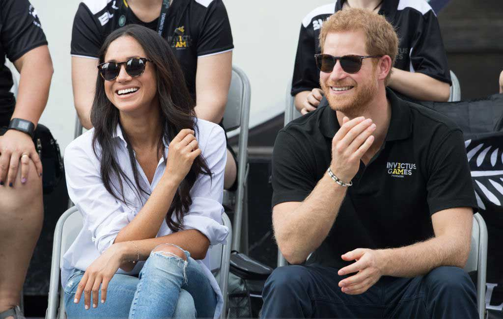 Prince Harry jokes about 'FALL OUTS' between the royals