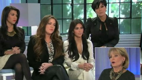 'You don't have any talent' Barbara Walters gets real with the Kardashians
