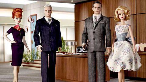 Mad Men Barbie dolls (cuuuuute!)