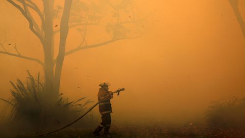 It is believed the flames have scorched approximately 1500 hectares of land.