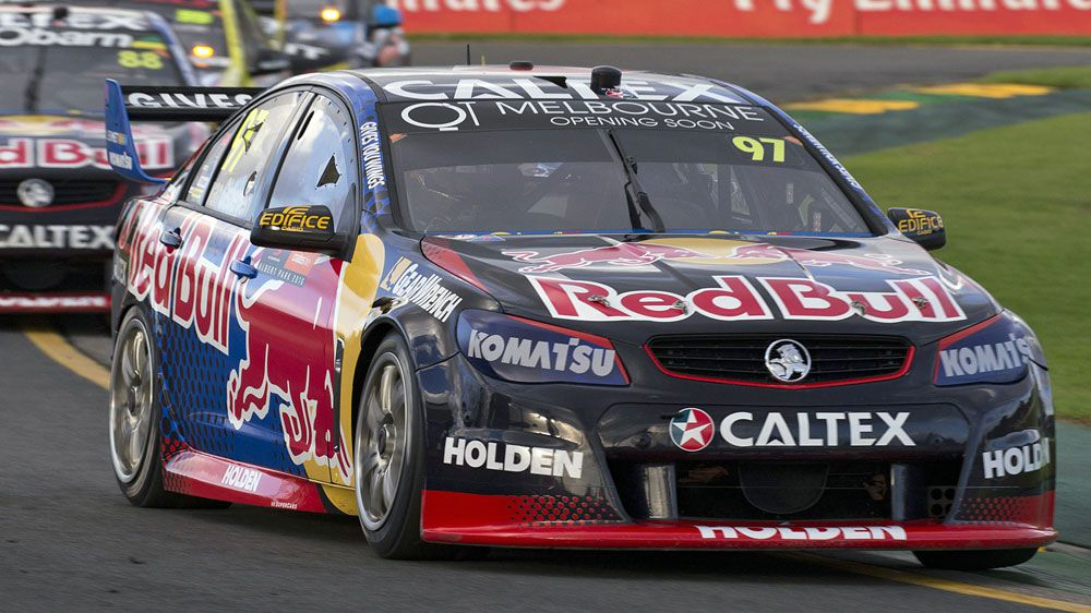 Shane van Gisbergen.(Getty)