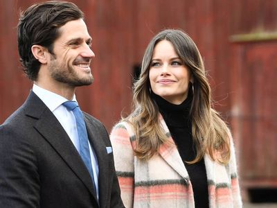 Prince Carl Philip of Sweden and Princess Sofia