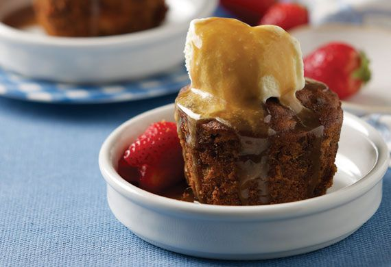 Rena Patten's gluten-free sticky date pudding
