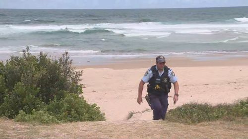 A man has drowned at a beach on the NSW Central Coast.