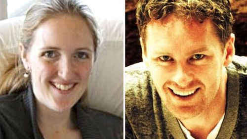 Lindt Cafe siege victims Katrina Dawson and Tori Johnson.