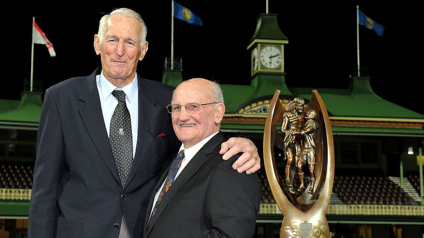 St George legend, rugby league Immortal Norm Provan dies aged 89