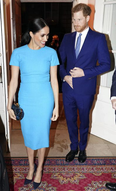 The Duke and Duchess of Sussex attend the Endeavour Fund Awards in London in March 2020.