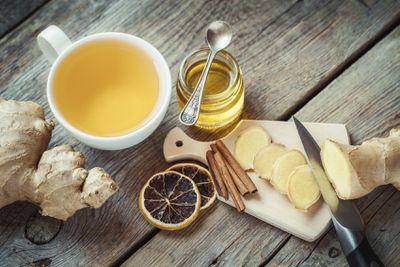7. Sip on ginger tea