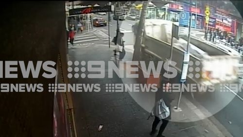 Police suspended the pursuit soon after due to safety reasons. (9NEWS)