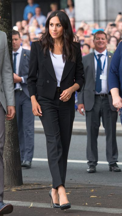 <p>Meghan Markle in Givenchy in Ireland, July 2018</p>
