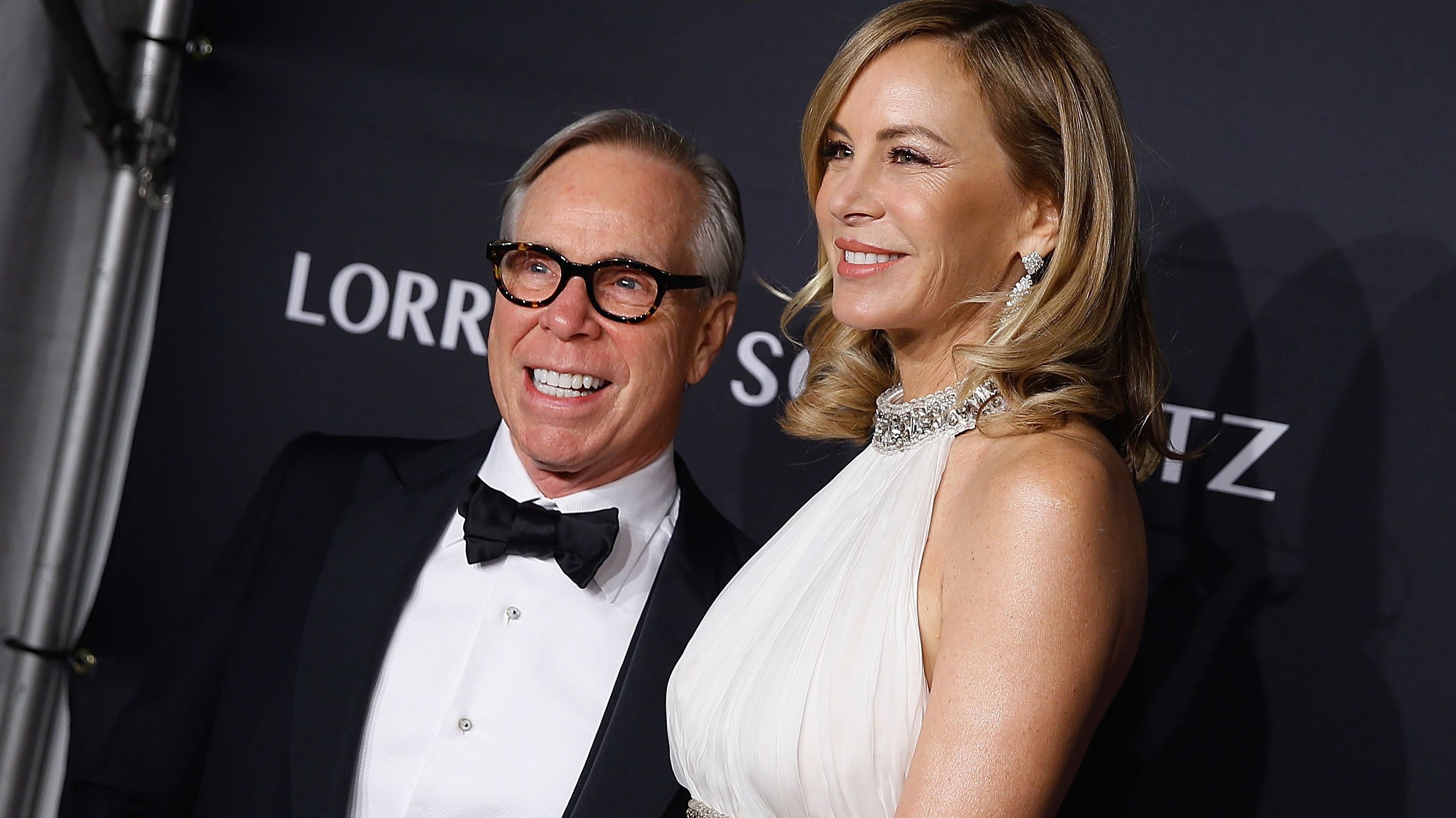 Tommy Hilfiger would be proud to dress Melania Trump
