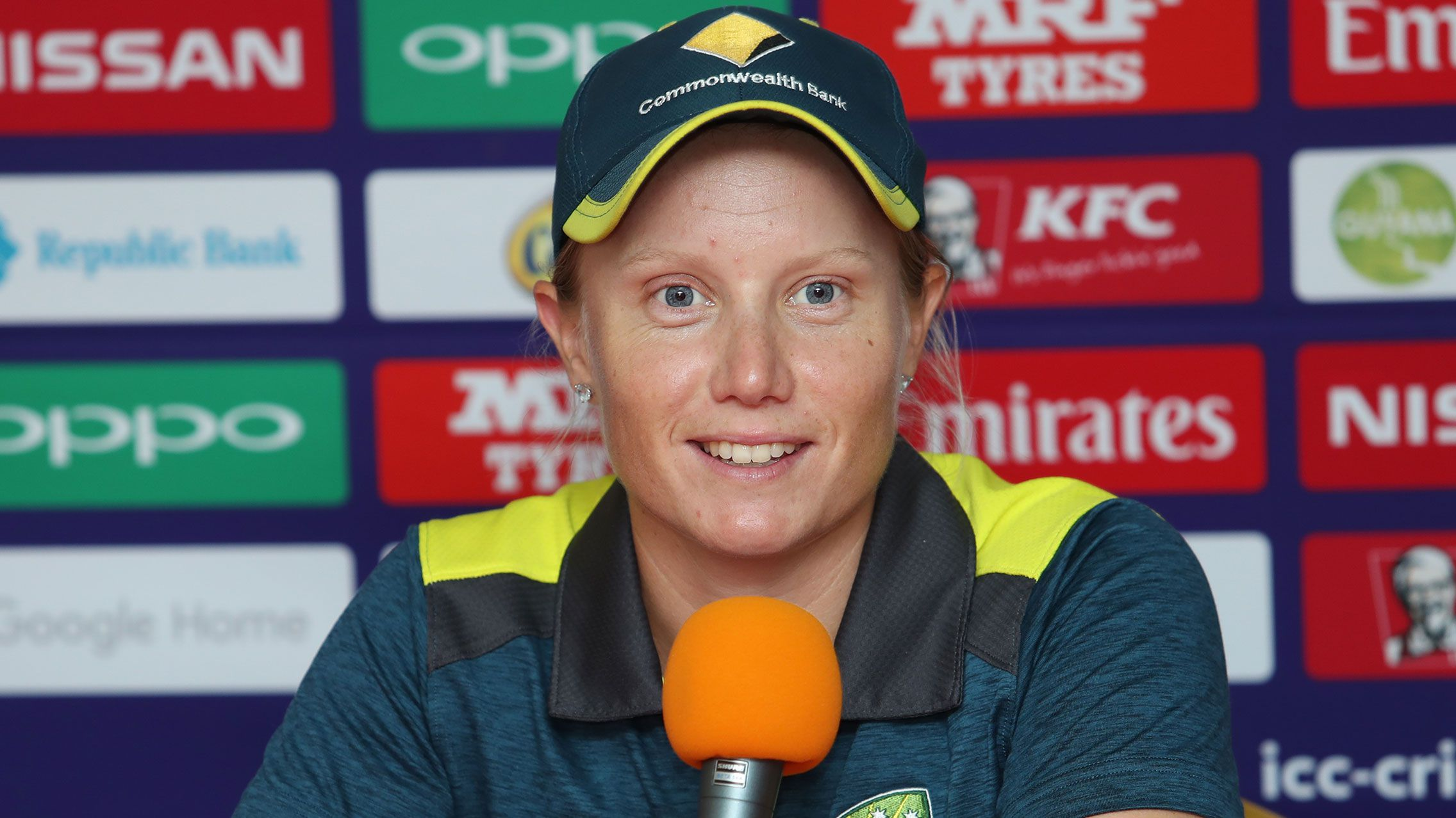 Alyssa Healy buoyed by Viv Richards chat at T20 World Cup