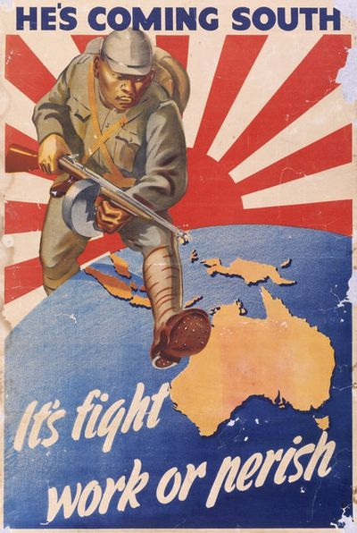 The WWII propaganda poster too terrifying for Australia - 9Pickle