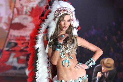 Everyone's an interest group in this day and age. When a Victoria's Secret fashion show employed a Native American theme complete with a feather headdress that signifies sacrifice in battle, the only ones not looking at the half naked girls were the Native Americans who considered it a mockery of their culture.
