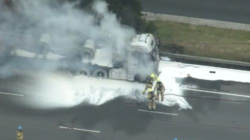 MFB crews remain at the scene this morning.