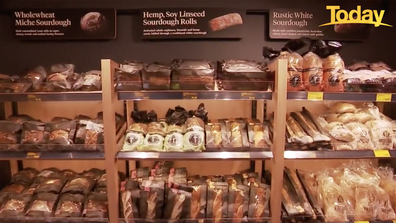 Aldi's new corner store comes with a bakery.