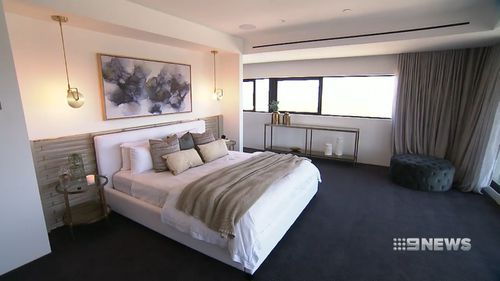 As part of Sydney's largest single-level apartment, the property comes with an almost 100-square-metre master bedroom.