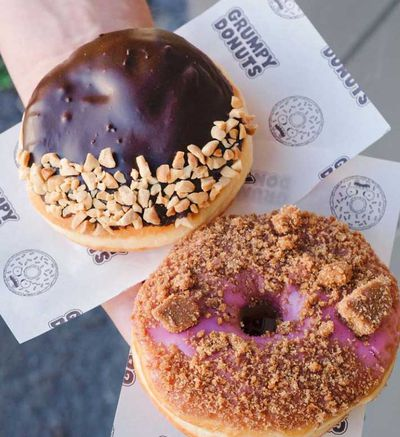 Grumpy Donuts' assorted donuts box – NSW