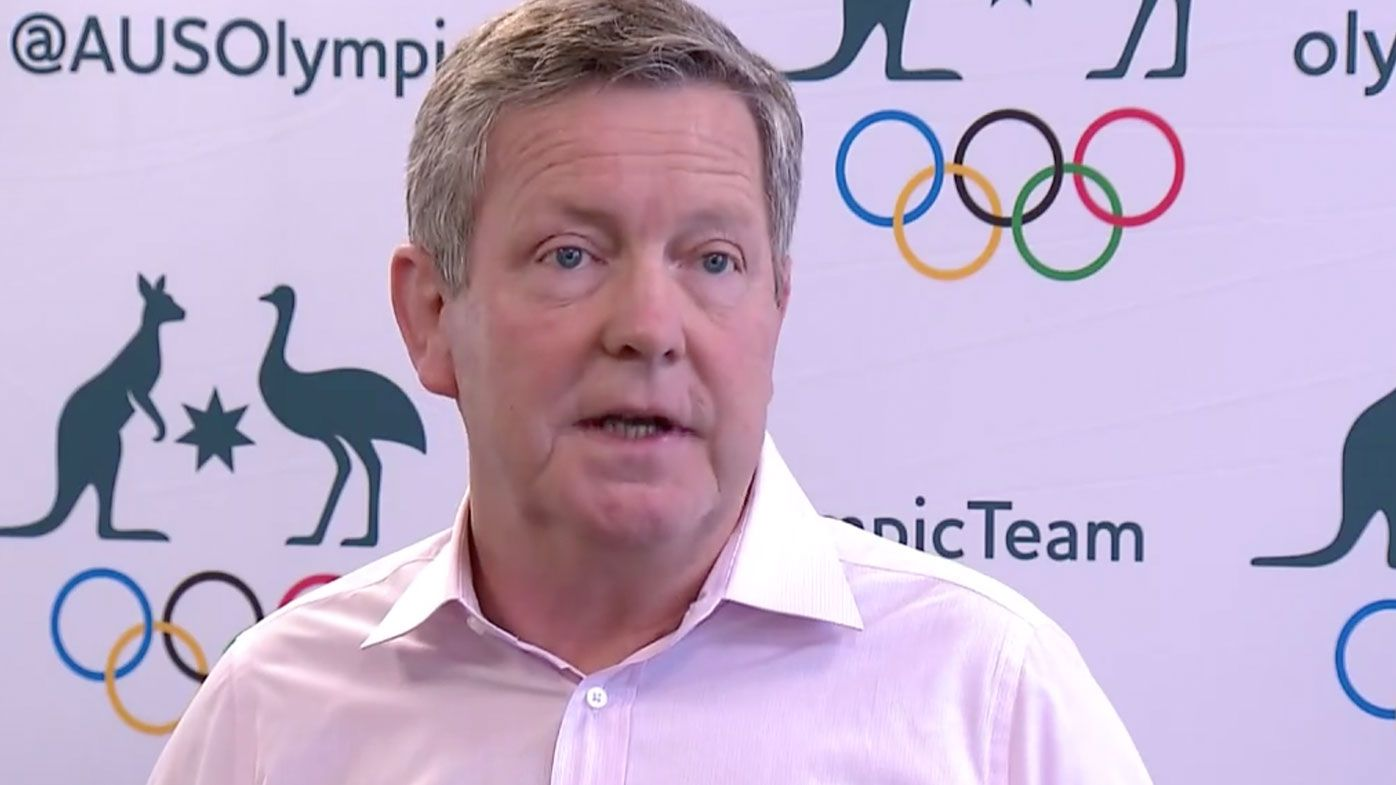 AOC boss Matt Carroll says a returning Olympian is 'not travelling well' as South Australia insists on double quarantine