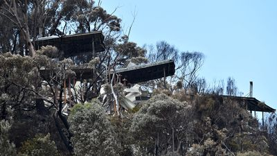At least 116 homes were destroyed in the bushfires, with an estimated insurance loss of $25 million. (AAP)