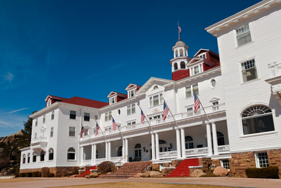 The Stanley Hotel, Colorado, famous location of The Shining starring Jack Nicolson