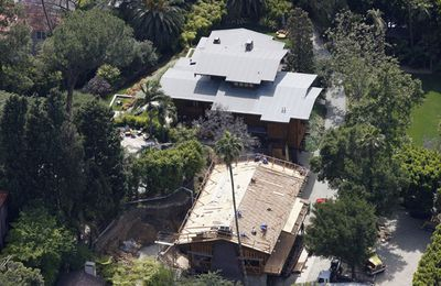Another one of <b>Angelina Jolie</b> and <b>Brad Pitt</b>'s homes, this L.A.  property is actually three adjacent houses. The main house has 5 bedrooms and was acquired by Brad in 1994. He bought the second home in 1996 and the last one in 1998. Because one house on one block just isn't enough when you're rich and famous.