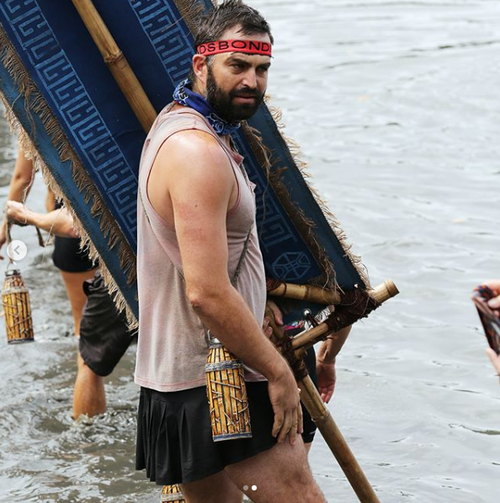 Brian lake was a contestant on Network 10's Survivor reality show last year.