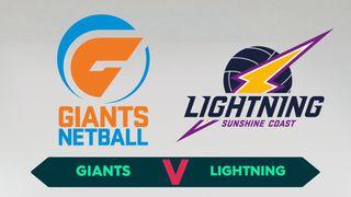 Preliminary Final: Giants Netball v Sunshine Coast Lightning