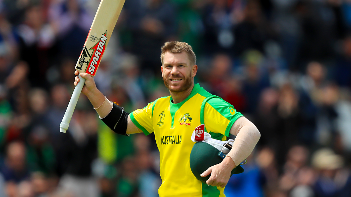 David Warner plunders record-breaking World Cup century against Bangladesh