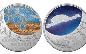 Rare new silver $1 coin celebrates Indigenous astronomy