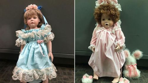 'Creepy' person who left porcelain dolls on doorsteps of families not actually a creep