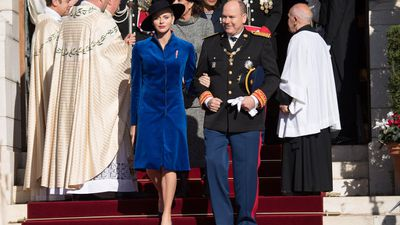 Princess Charlene and Prince Albert of Monaco