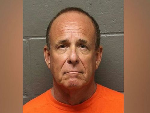 Dr James Kauffman was arrested after he allegedly displayed a Ruger 9mm handgun and pointed it at himself when authorities showed up to execute a search warrant on June 13, 2017. Picture: Atlantic County Prosecutor's Office