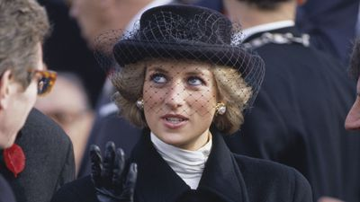 Princess Diana in Paris, 1988