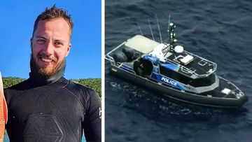 Search efforts have restarted this morning for a missing Norwegian diver who went missing off the coast of Brisbane yesterday.