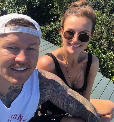 Susie Bradley and Todd Carney