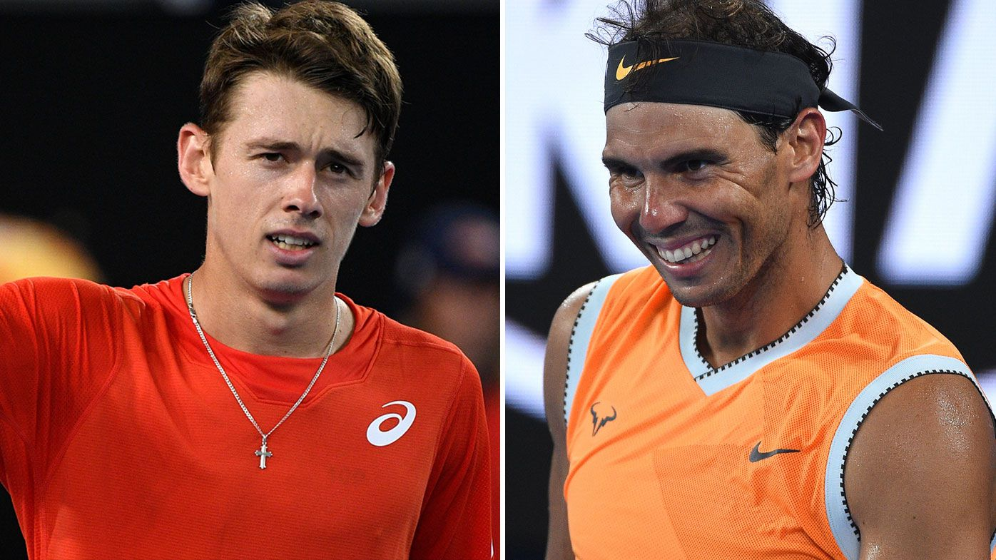 'He's almost Spanish': Rafael Nadal and Alex de Minaur set for blockbuster Friday night clash