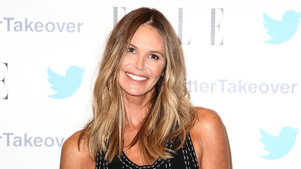 Beach babe Elle Macpherson shines like a star - but her skin is flawless. Image: Getty.