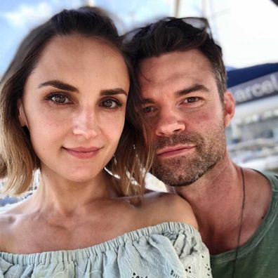 Rachael Leigh Cook and Daniel Gillies.