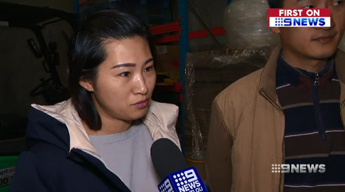 Ivy Jaing told 9News she has had to hide her stock because of the repeat break-ins on her place of business.