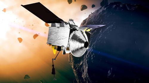 The Osiris-Rex spacecraft has gone into orbit around asteroid Bennu.