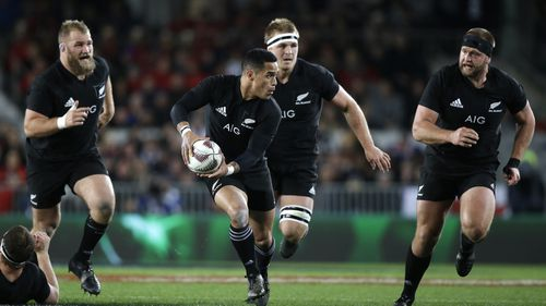 The All Blacks are preparing for their first Bledisloe Cup test match this weekend. (AAP)