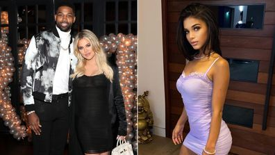Sydney Chase and Tristan Thompson