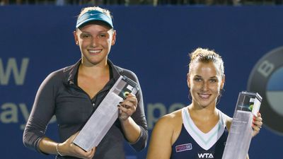 Vekic, 19, won the Croatian national junior championships in 2011 and won her first career Women's Tennis Association title at the 2014 Malaysian Open. (AFP)