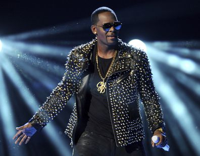 FILE - In this June 30, 2013 file photo, R. Kelly performs at the BET Awards in Los Angeles. Kelly sings about his troubles and battles in a new 19-minute song, addressing sexual abuse claims against him that remerged and put a screeching halt on his career. The song, âI Admit ,❠was posted to Soundcloud on Monday, July 23, 2018.