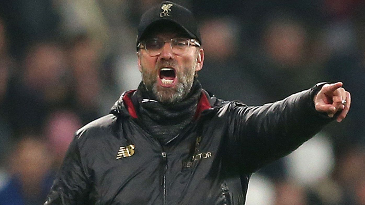 Liverpool stutter again in Premier League title race with draw at West Ham