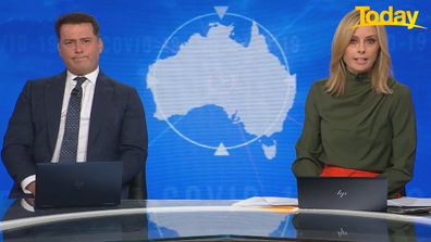 Today host Ally Langdon said Craig Kelly's advice is not based on science.
