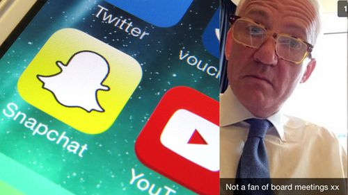 Banker quits $10 million job over Snapchat photos